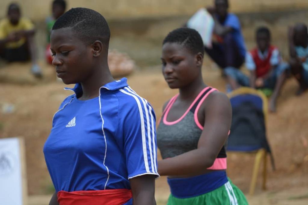 Tournoi de lutte des jeunes 2019